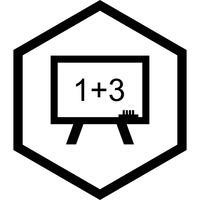 Conception d'icônes de mathématiques vecteur