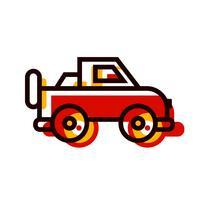 conception d'icône de jeep