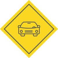 Conception d'icône de voiture vecteur