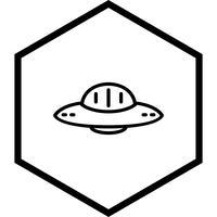 conception d'icône ovni