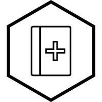 Conception d'icône de livre médical