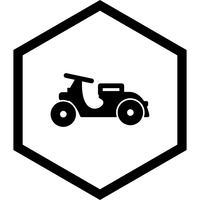 conception d'icône de vespa