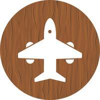 Conception d'icône d'avion