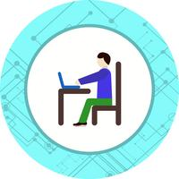 Utilisation de l'icône de l'ordinateur portable