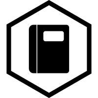 conception d'icône de cahier