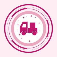 design d'icône de transporteur