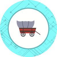 conception d'icône de wagon