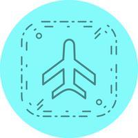 Conception d'icône d'avion vecteur