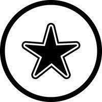 design d'icône étoile vecteur