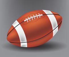 Football réaliste vecteur