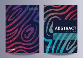 Affiche abstraite Vector Dsign