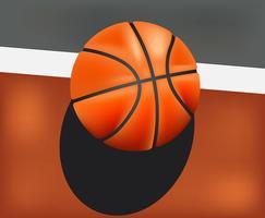 Basket réaliste vecteur
