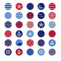 cercles nautiques vecteur