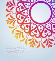 Mandala ornemental de vecteur inspiré de l'art ethnique, à motifs de paisley indien. Illustration dessinée à la main Élément d'invitation. Tatouage, astrologie, alchimie, boho et symbole magique.