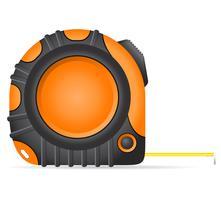 illustration vectorielle outil roulette vecteur