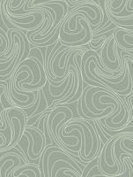 Motif géométrique abstrait papier peint Waveline. Ornement floral vecteur
