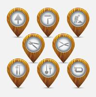 Les icônes vecteur