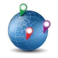 Globe isométrique