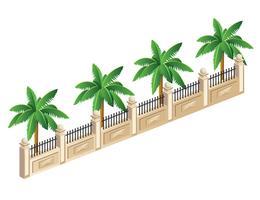 palmiers vecteur