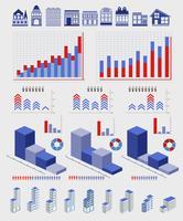 éléments infographiques vecteur