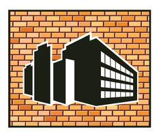 bâtiment industriel vecteur