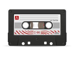 illustration vectorielle de cassette audio