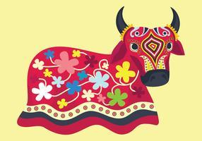 Bumba Meu Boi Bulls Vector