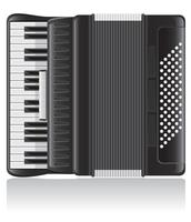 illustration vectorielle accordéon