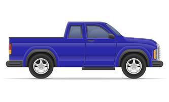 illustration vectorielle de voiture pickup