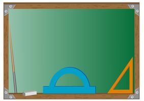 tableau d'école vecteur