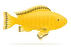illustration vectorielle de poissons d'aquarium vecteur