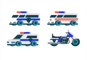 Police Clipart Set