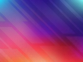 Fond abstrait lignes colorées vecteur