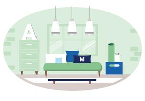 Illustration vectorielle de salon