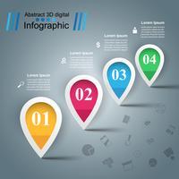 Icône de l'eau Infographie de l'entreprise.