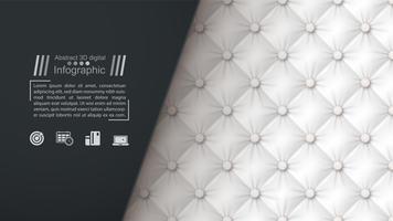 Modèle de papier commercial - fond textile.