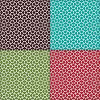 motifs géométriques marocains ondulés sans soudure
