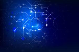 Abstrait connexion internet sociale, élément point et ligne 012 vecteur