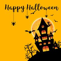 Fond de fête d'halloween vecteur