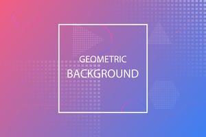 modèle abstrait coloré géométrique minimal, rose et violet