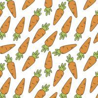 Fond de carottes vecteur