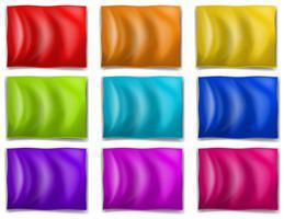 Drapeaux colorés