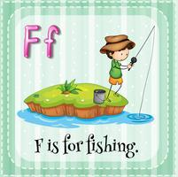 Pêche vecteur