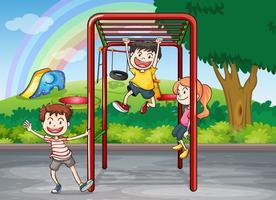 bar pour enfants et singe