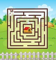 Labyrinthe vecteur