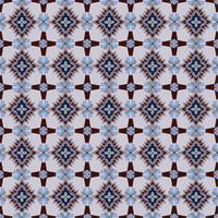 Modèle de mosaïque sans soudure Ornement floral abstrait Texture de tissu oriental