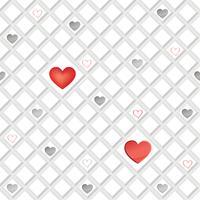 Amour coeur modèle sans couture Valentine jour vacances géométrique ornement