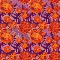 Floral pattern sans soudure. Fond de fleurs. Jardin fleuri