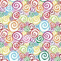 Abstrait motif ornemental sans soudure. Fond géométrique ligne tourbillon vecteur