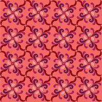 Motif de lignes orientales Ornement floral abstrait Fond tissu Swirl